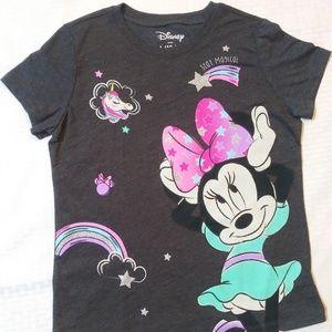 Minnie Mouse T-Shirt Girls L 10-12